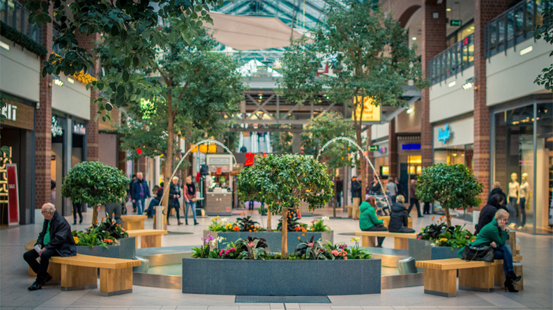artificial-plants and trees indoors Dubai
