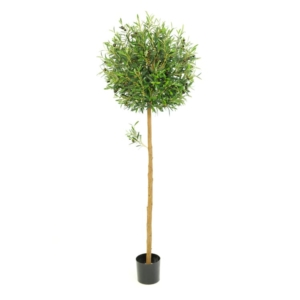 artificial olive ball tree