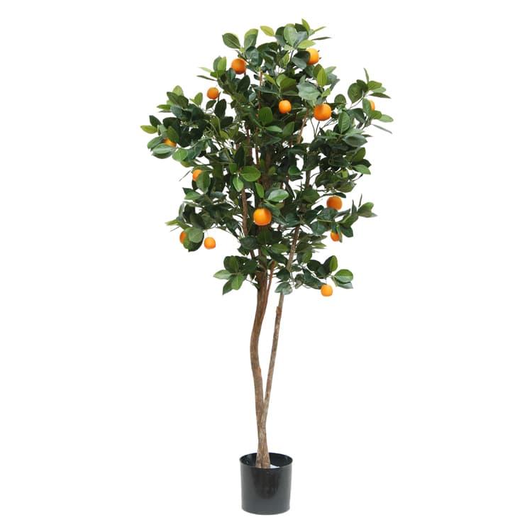 artificial orange fruit tree