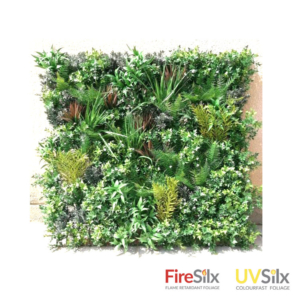 Mixed Leaves Artificial Green Wall Panel - TL2381