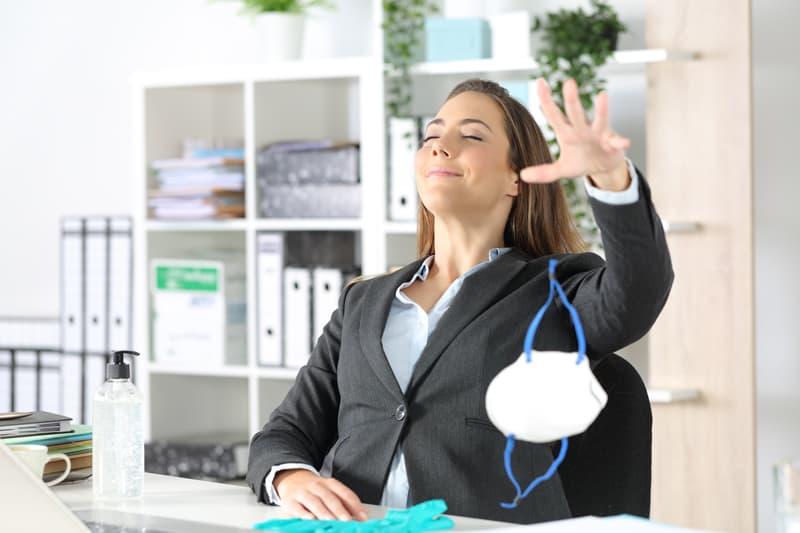 Benefits of fresh air at work
